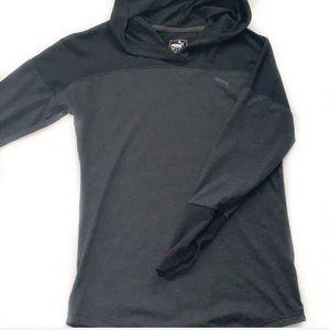 Puma • Hooded Long Sleeve Top